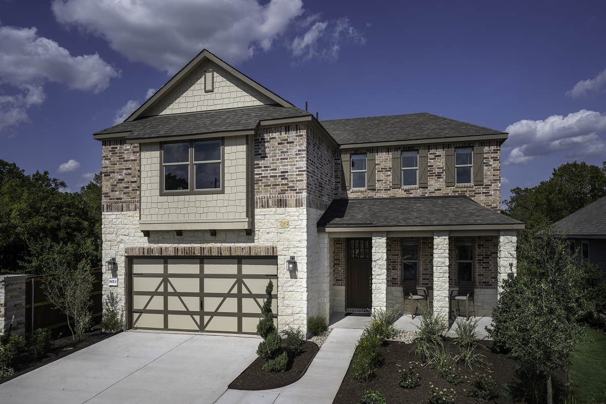 New Homes in Austin, TX - Plan 2502 Modeled