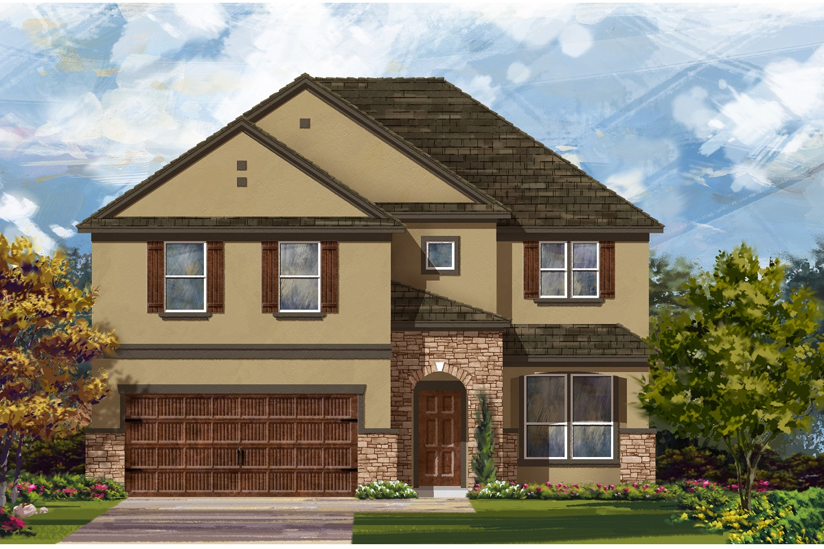 New Homes in Georgetown, TX - Plan 2469 D
