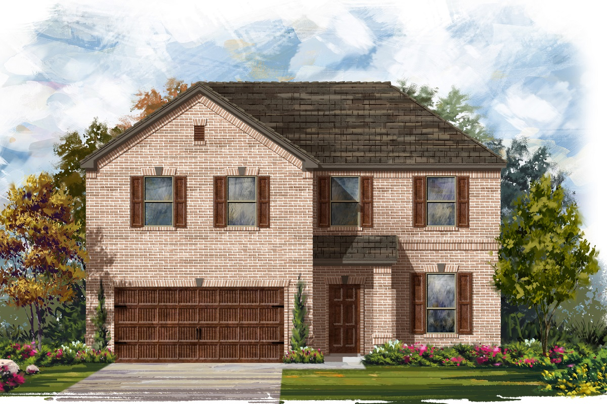 New Homes in Georgetown, TX - Plan 2469 A