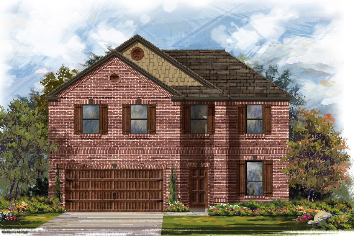 New Homes in Georgetown, TX - Plan 2469 B