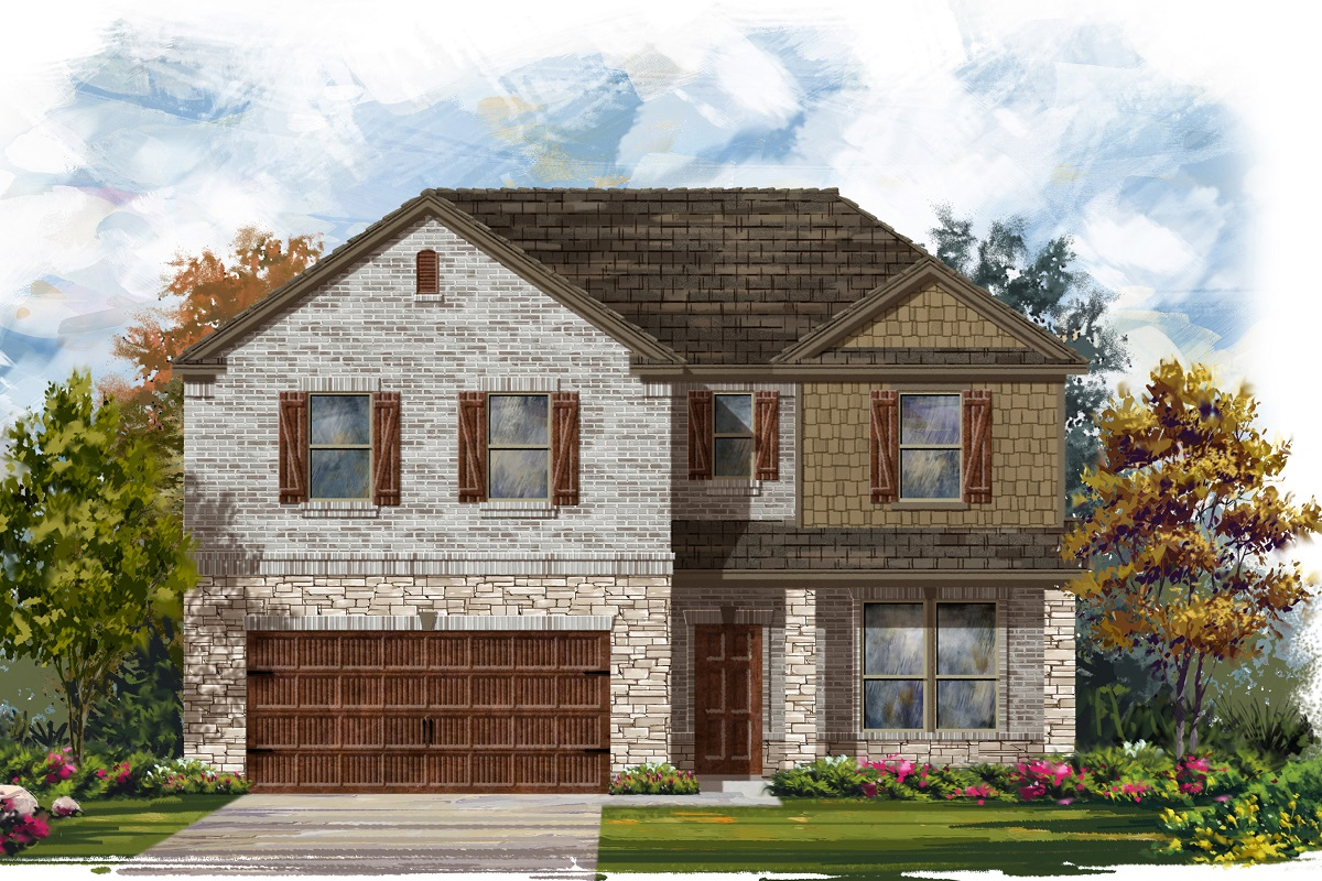 New Homes in Georgetown, TX - Plan 2469 C