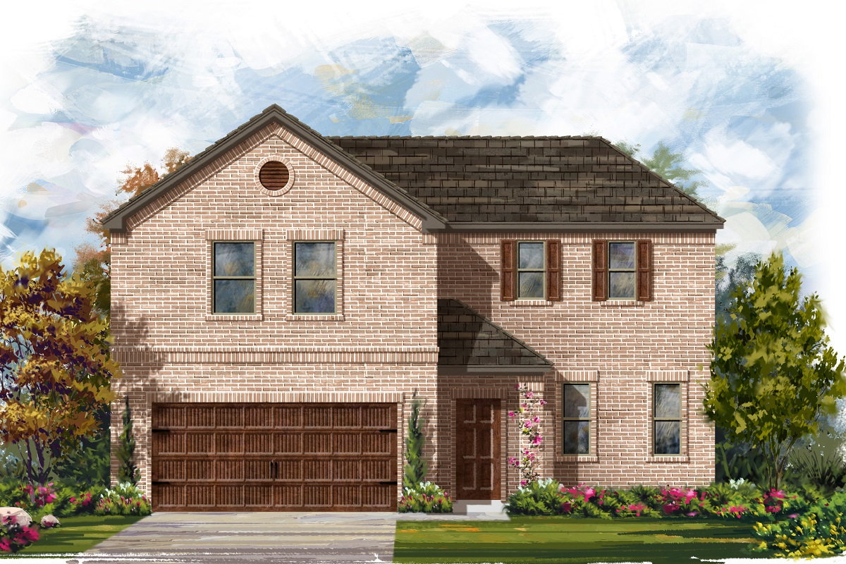 New Homes in Georgetown, TX - Plan 2502 A