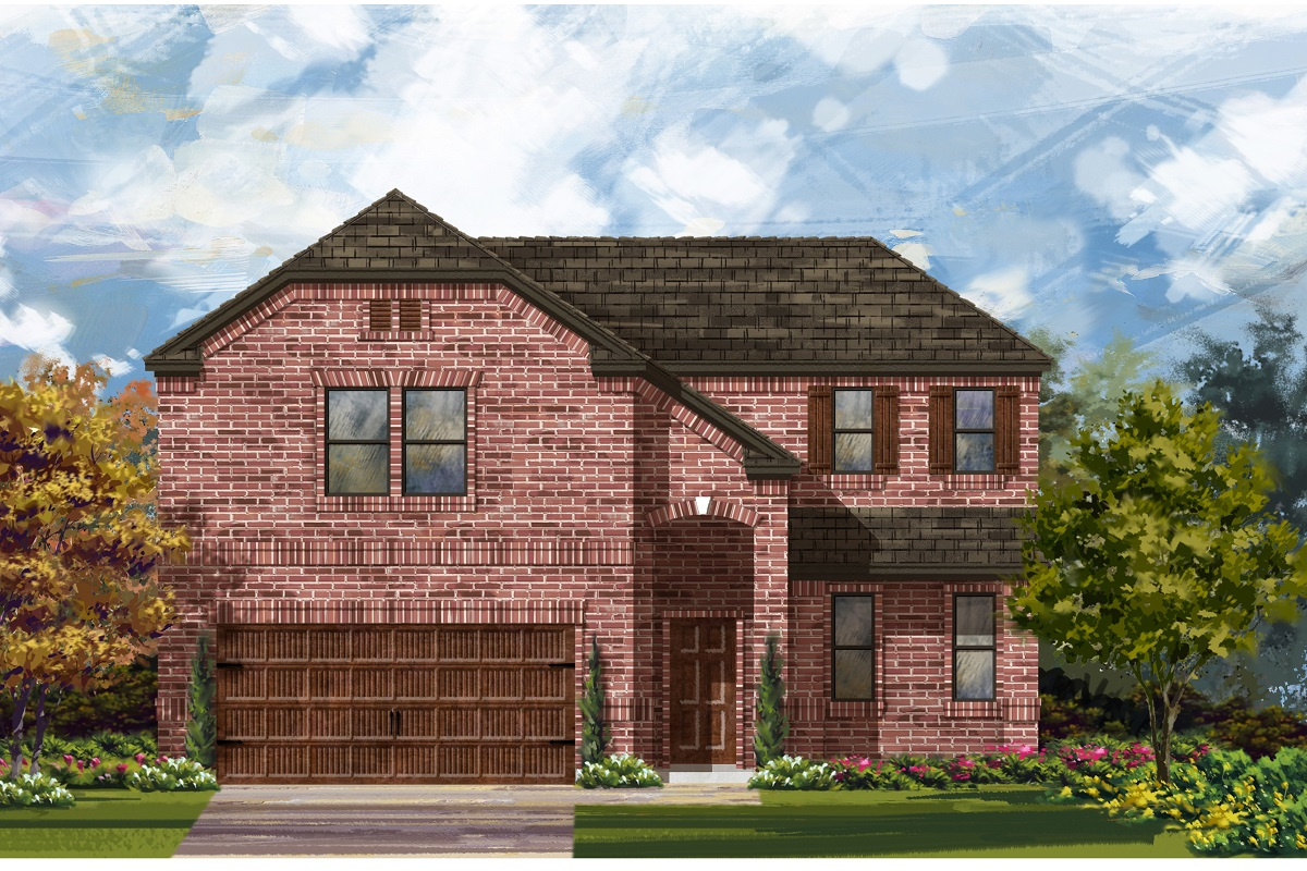 New Homes in Georgetown, TX - Plan 2502 B