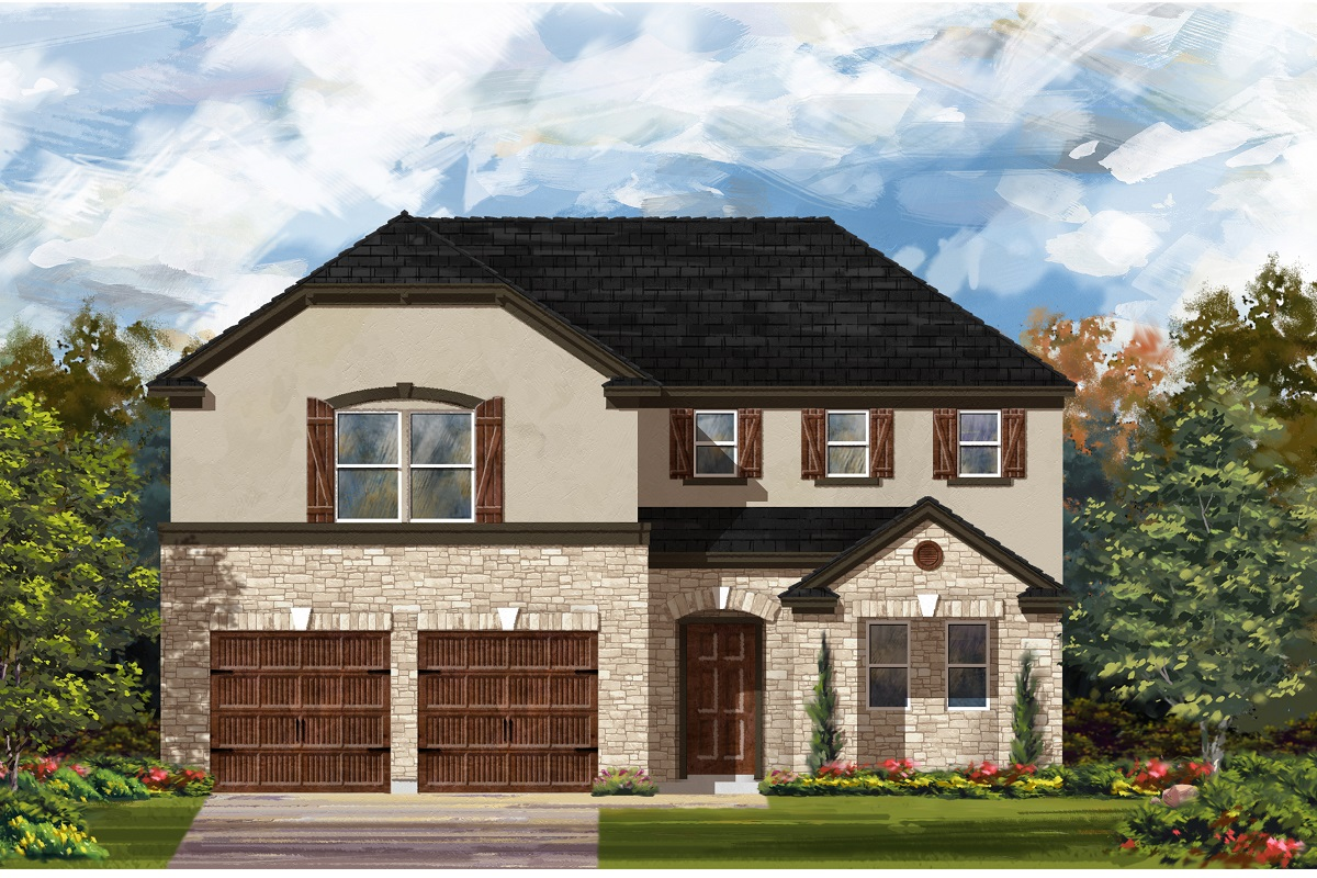 New Homes in Georgetown, TX - Plan 2502 D