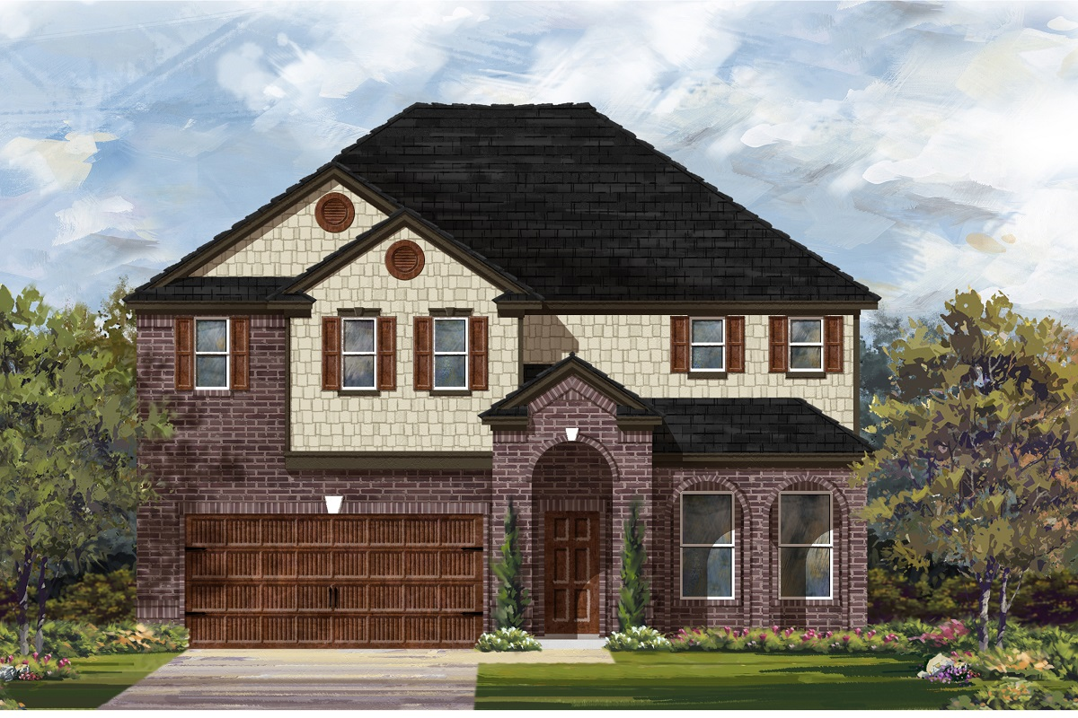 New Homes in Georgetown, TX - Plan 3023 A