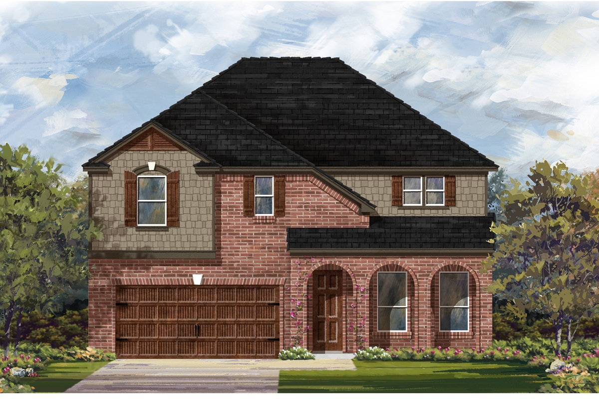 New Homes in Georgetown, TX - Plan 3023 B