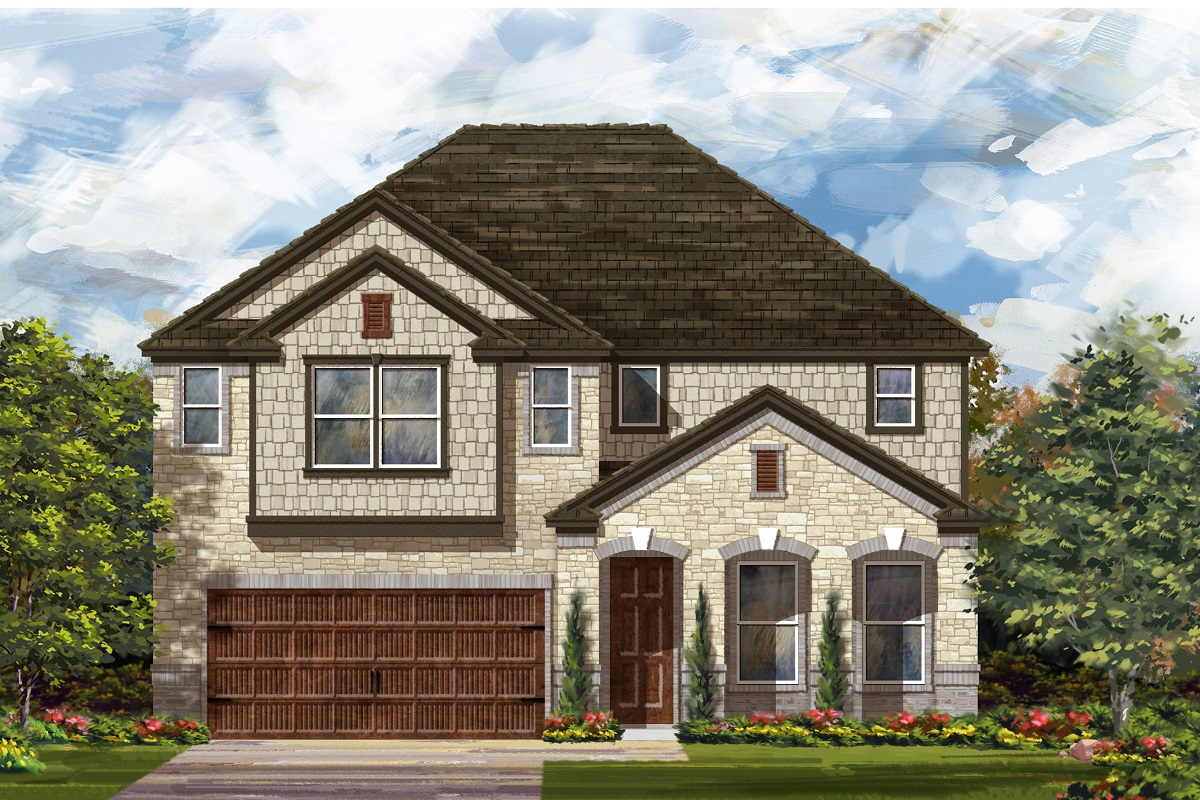 New Homes in Georgetown, TX - Plan 3023 C