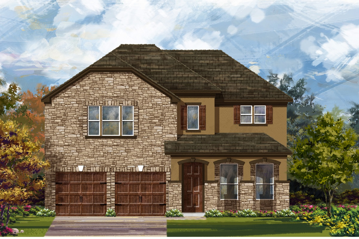 New Homes in Georgetown, TX - Plan 3023 D