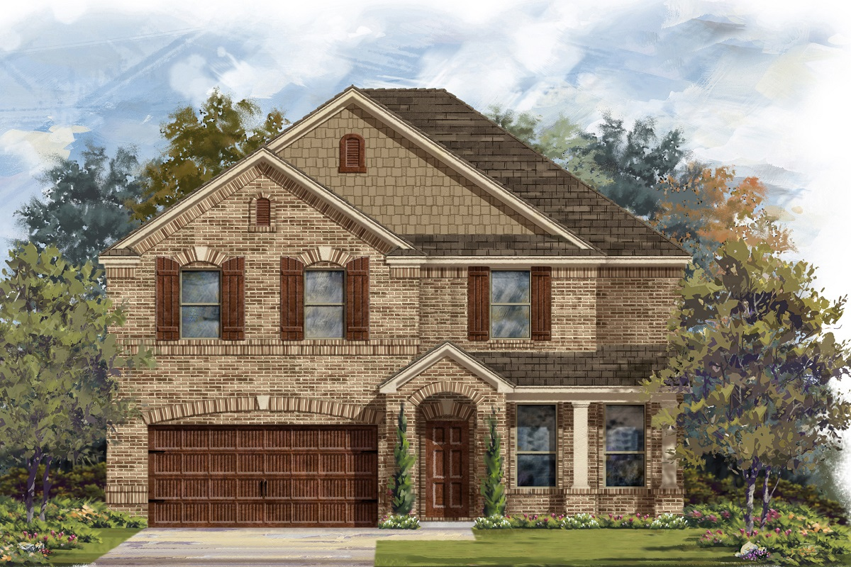 New Homes in Georgetown, TX - Plan 3125