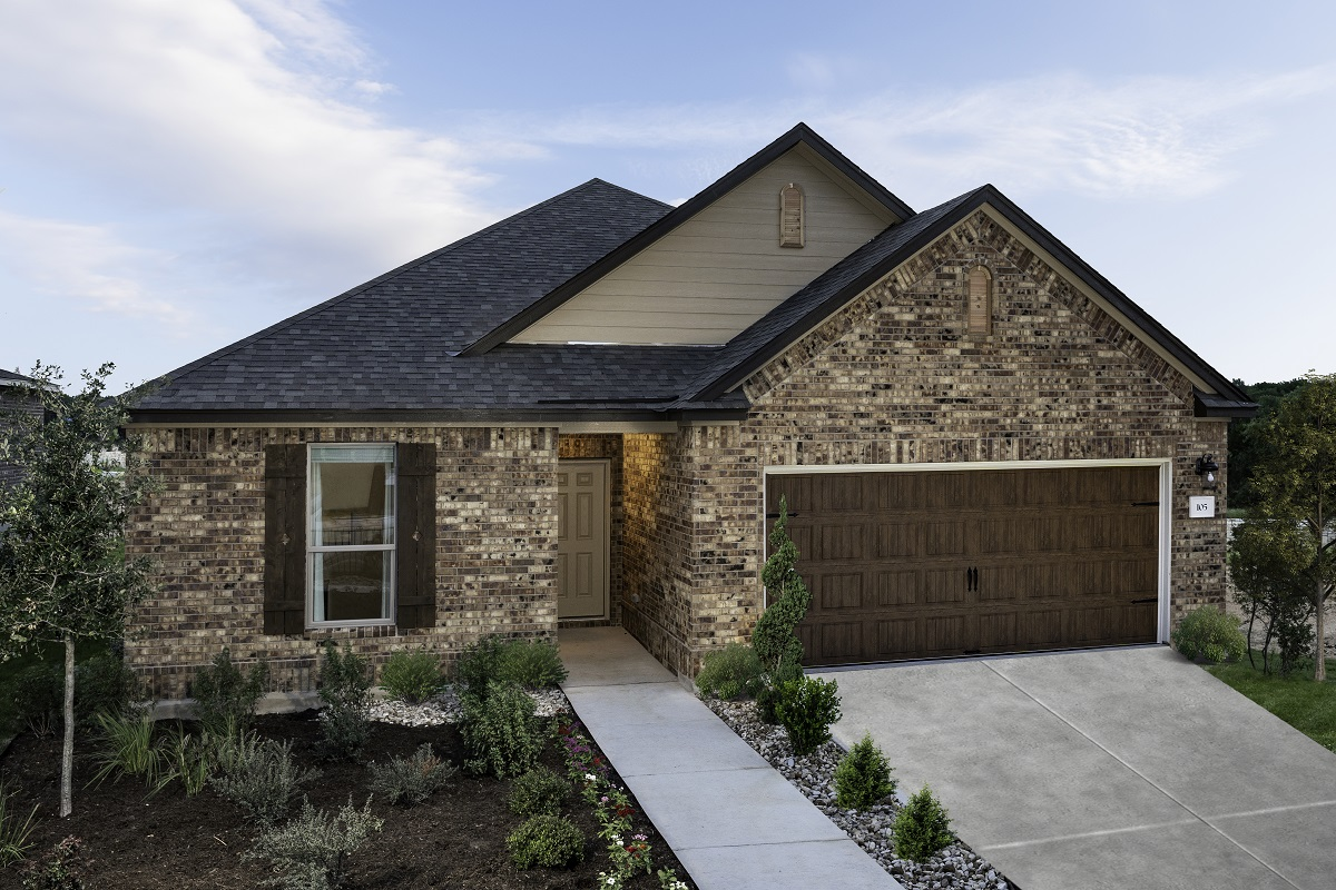 New Homes in Georgetown, TX - Oakmont Plan A-1675