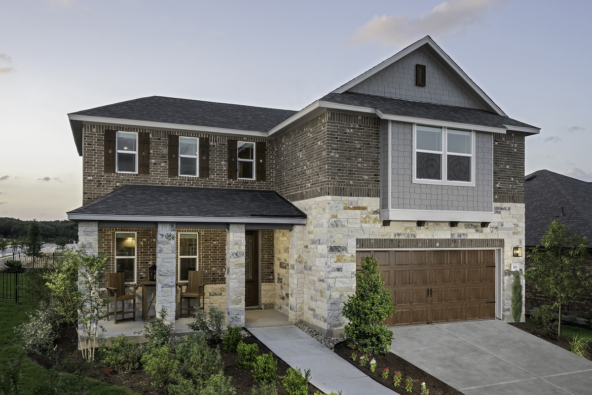 New Homes in Georgetown, TX - Plan 2502 Modeled