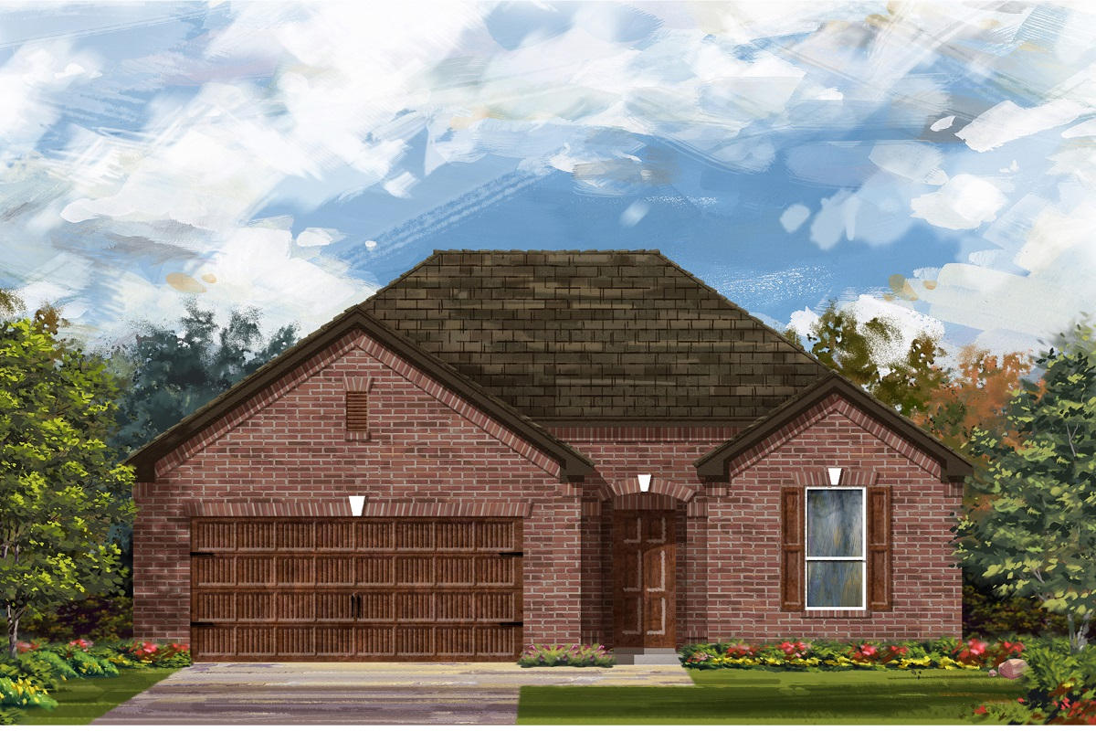 New Homes in Bastrop, TX - Plan A-1792 A