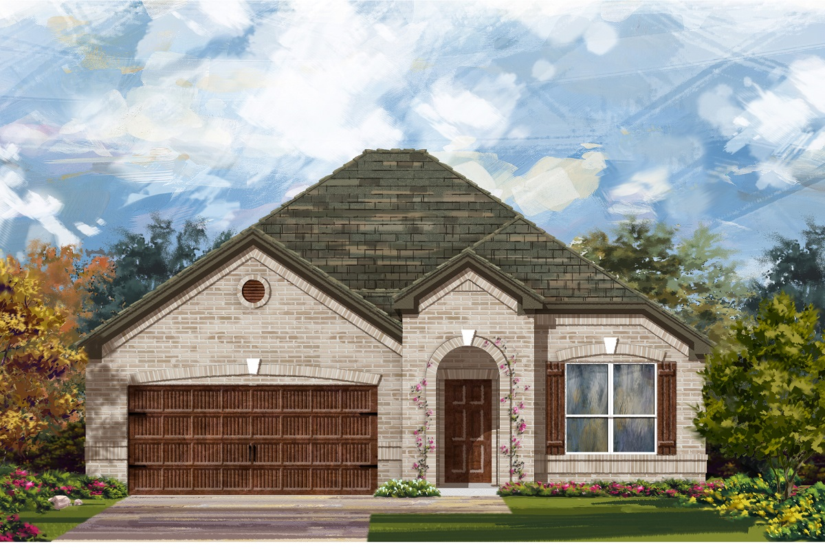 New Homes in Bastrop, TX - Plan A-1792 B