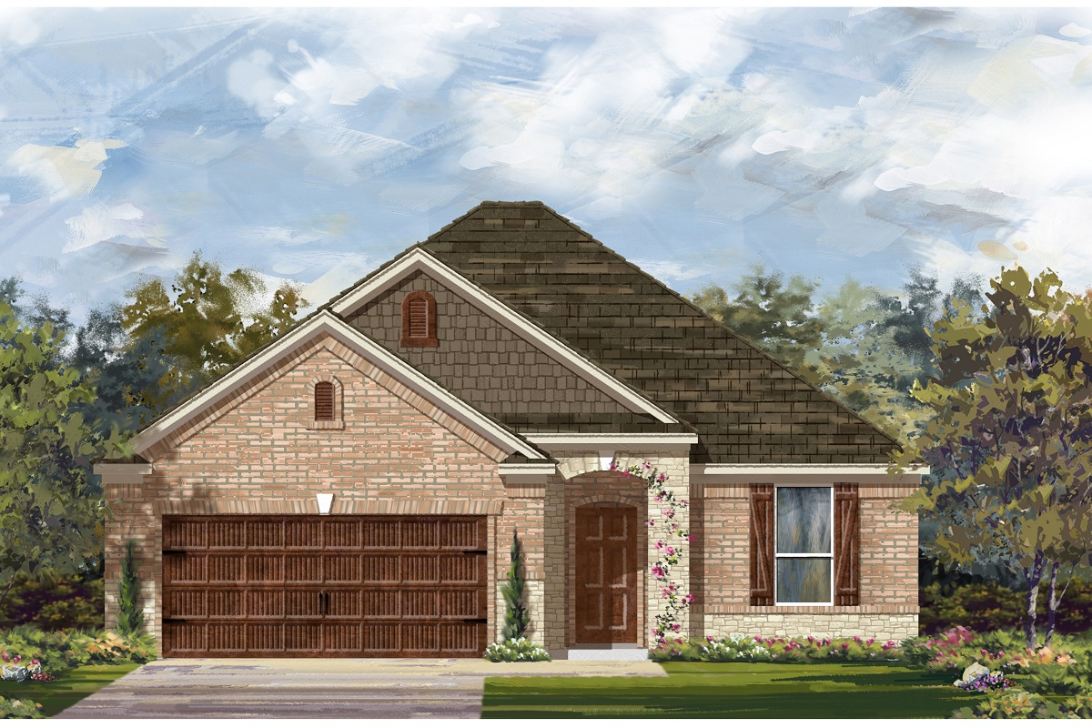 New Homes in Bastrop, TX - Plan A-1792 C