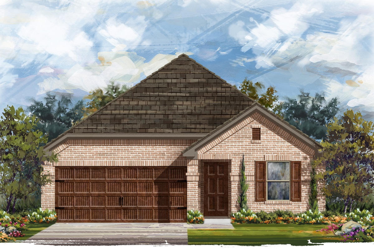 New Homes in Bastrop, TX - Plan E-1647 H