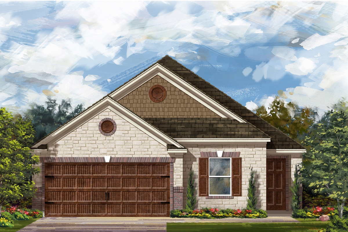 New Homes in Bastrop, TX - Plan E-1892 J