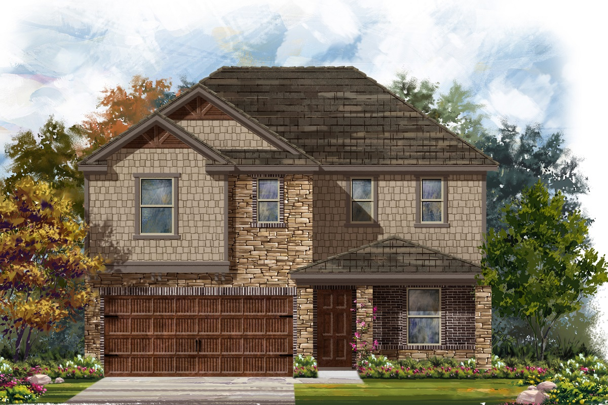 New Homes in Bastrop, TX - Plan E-2403