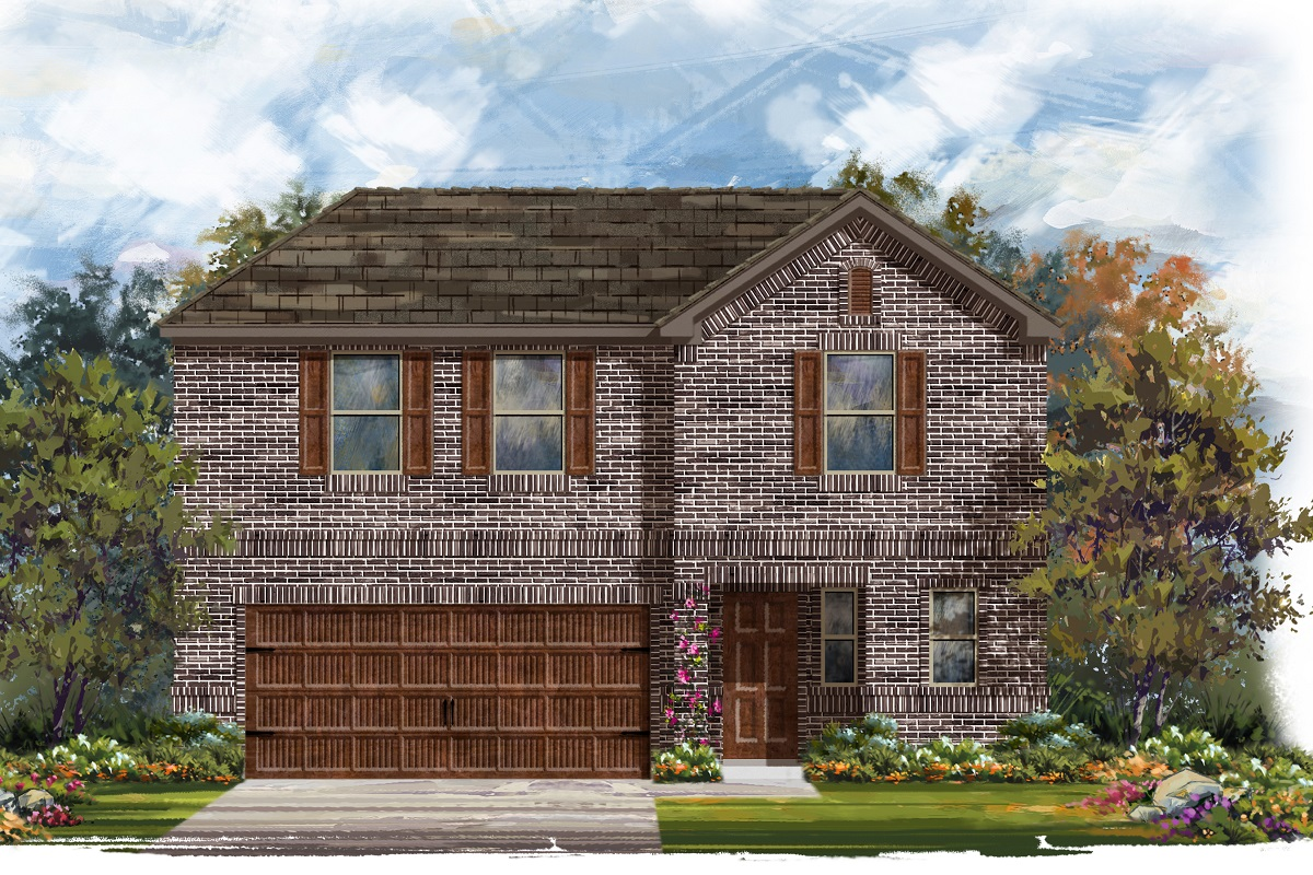 New Homes in Bastrop, TX - Plan E-2412 H