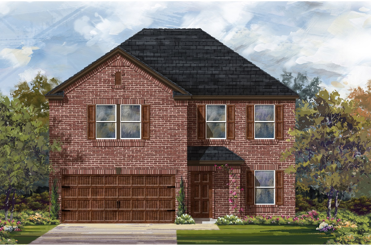 New Homes in Bastrop, TX - Plan E-2898 H