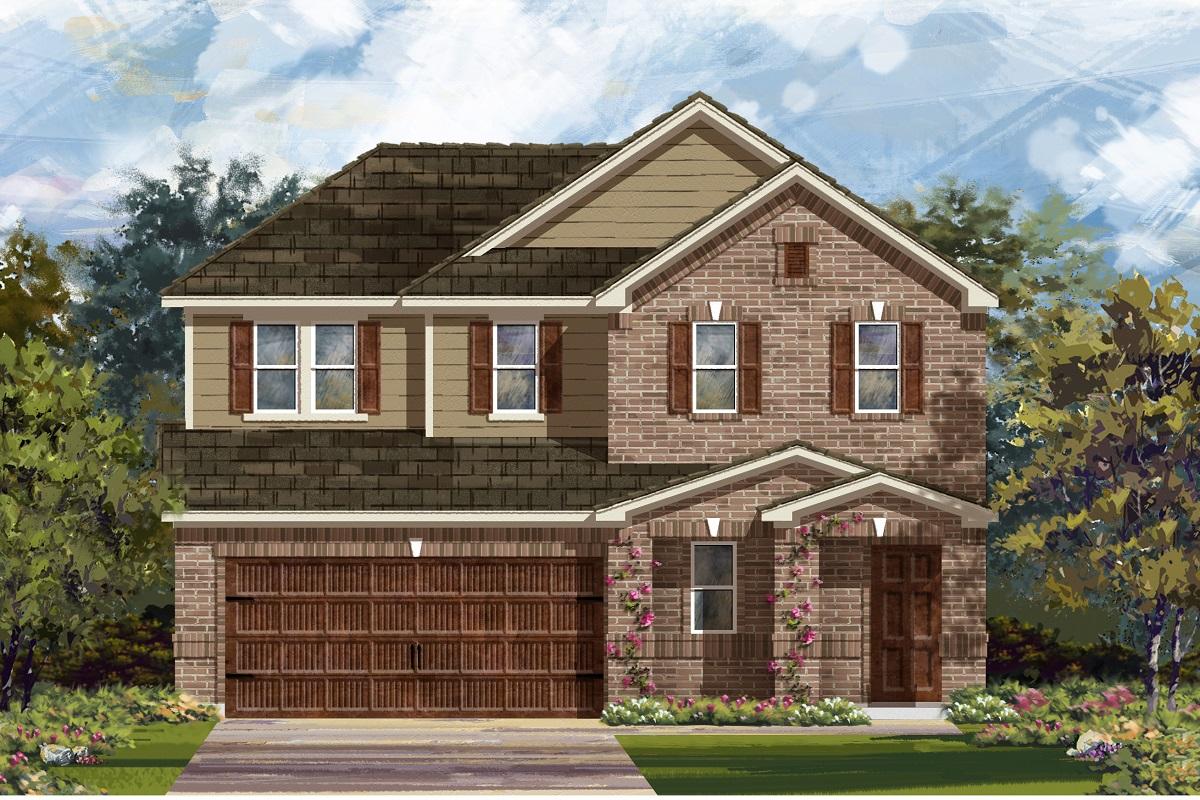 New Homes in Bastrop, TX - Plan E-2516