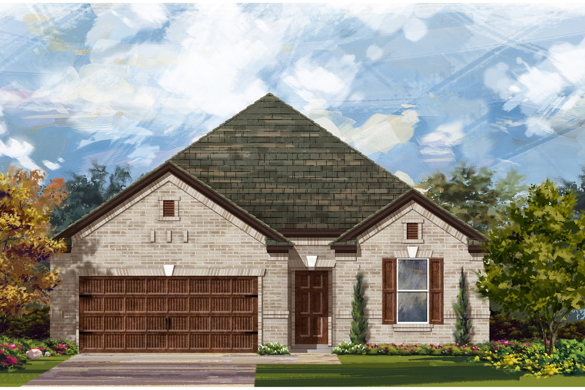 New Homes in Bastrop, TX - Plan A-1965 A