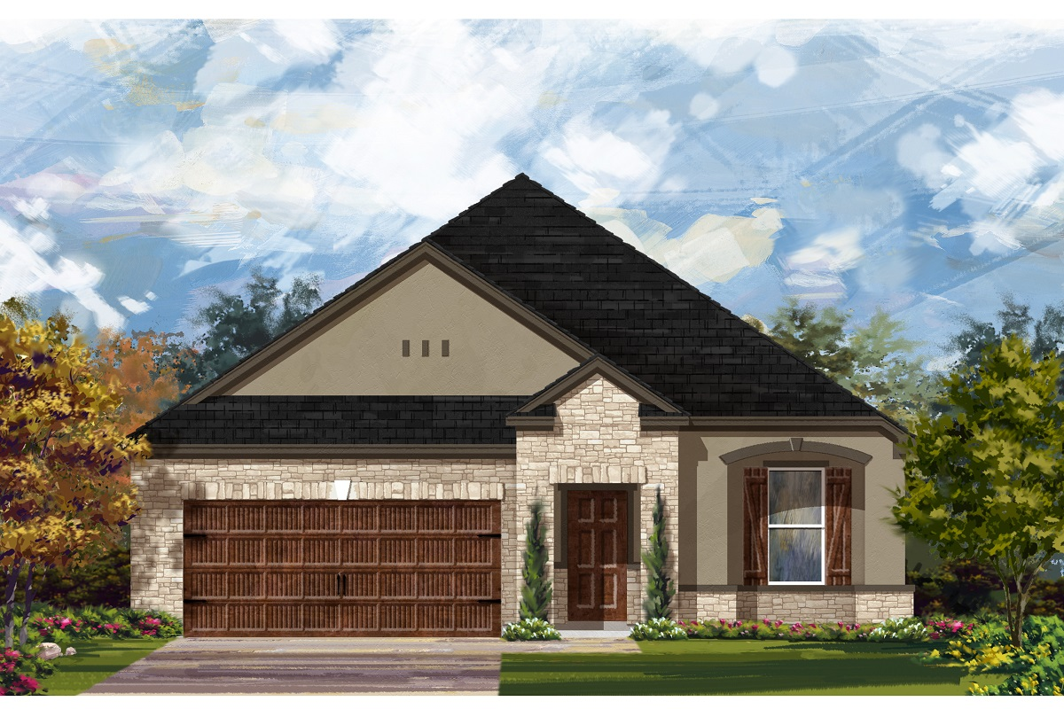 New Homes in Bastrop, TX - Plan A-1965 D