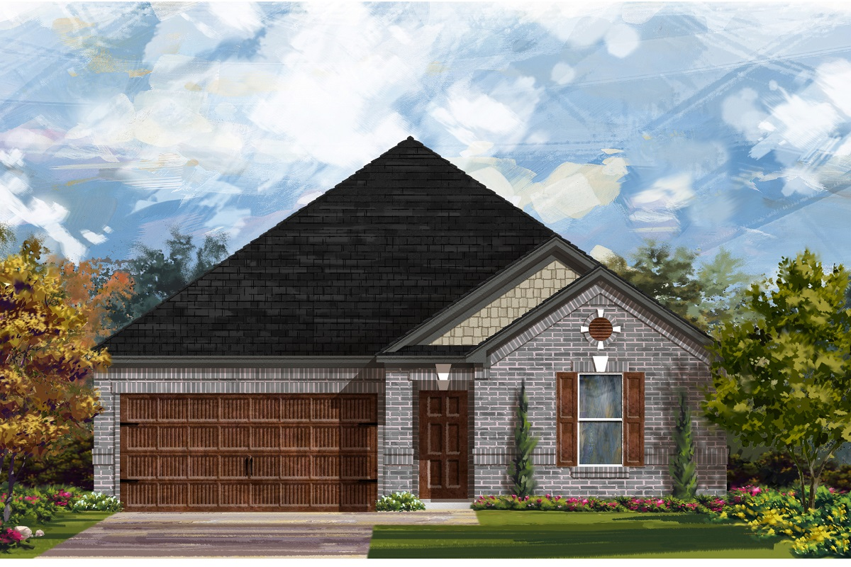 New Homes in Bastrop, TX - Piney Creek Bend Plan A-2382