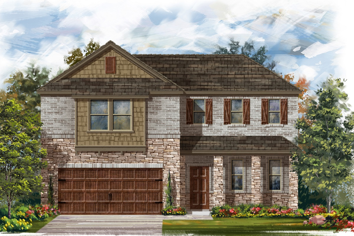 New Homes in Bastrop, TX - Plan A-2502