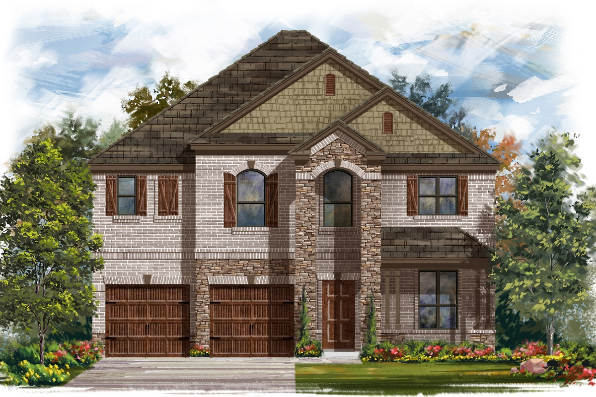 New Homes in Bastrop, TX - Plan A-2755