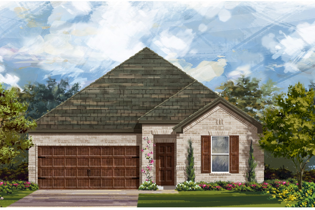 New Homes in Bastrop, TX - Plan A-1491 A