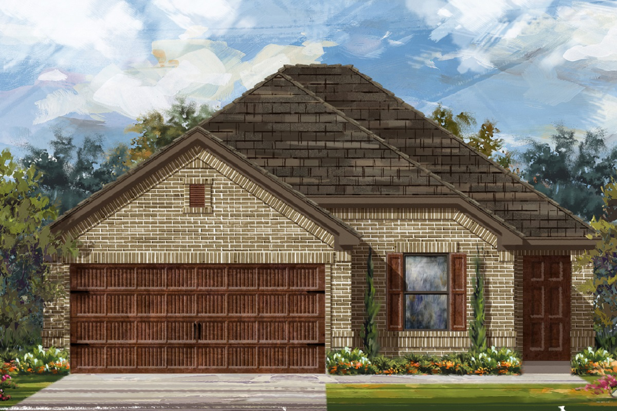 New Homes in Bastrop, TX - Plan E-1694