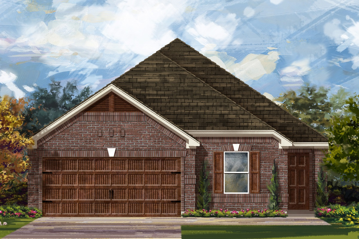 New Homes in Bastrop, TX - Plan E-1892 H
