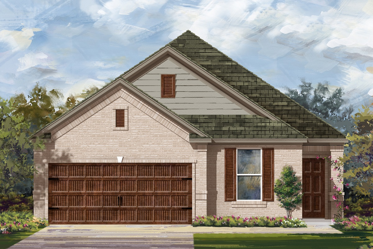 New Homes in Bastrop, TX - Plan E-1892 I