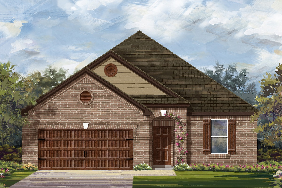 New Homes in Bastrop, TX - Plan A-1965 B