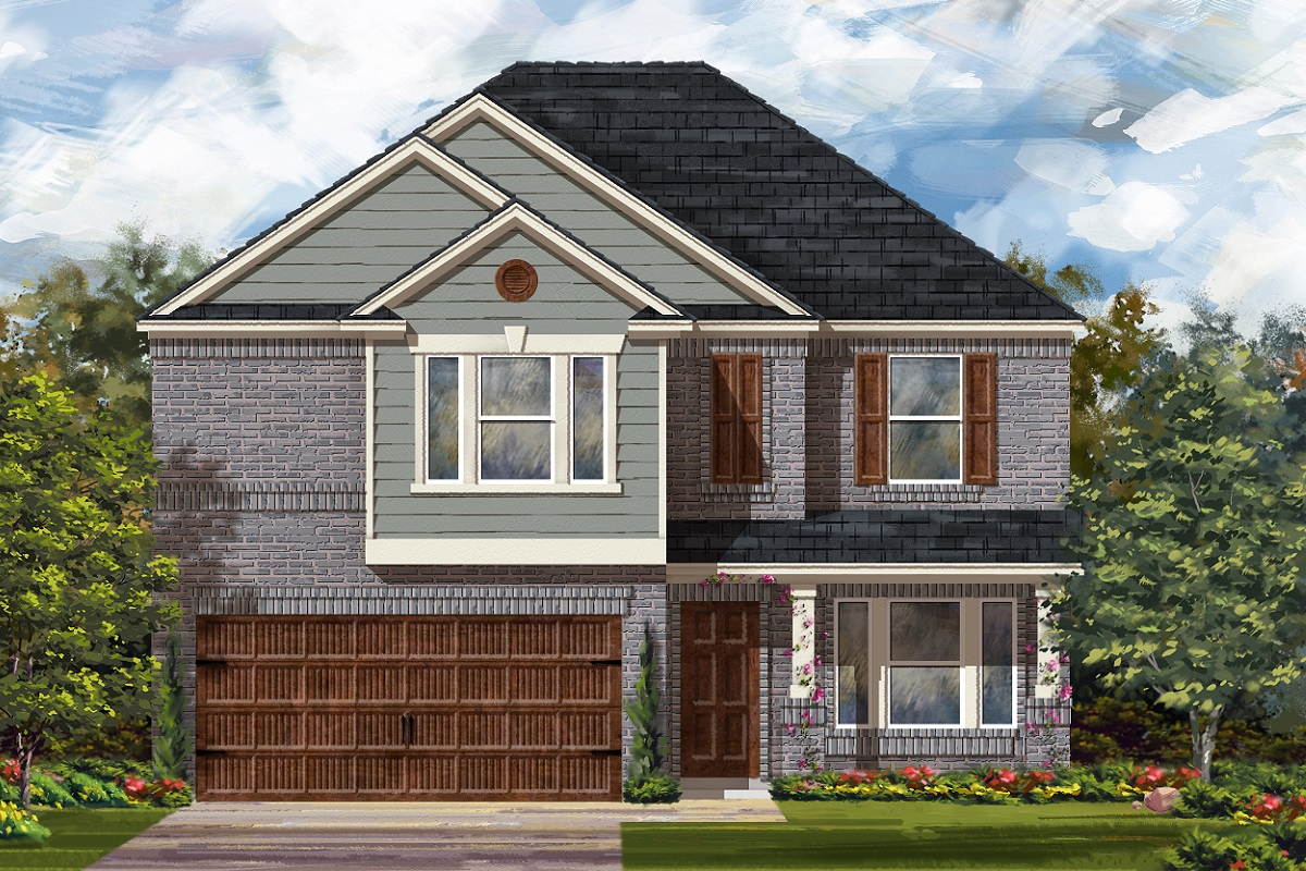 New Homes in Bastrop, TX - Plan E-2898 I