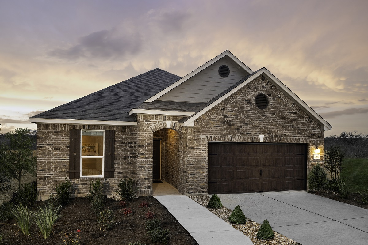 New Homes in Bastrop, TX - Piney Creek Bend Plan A-1965