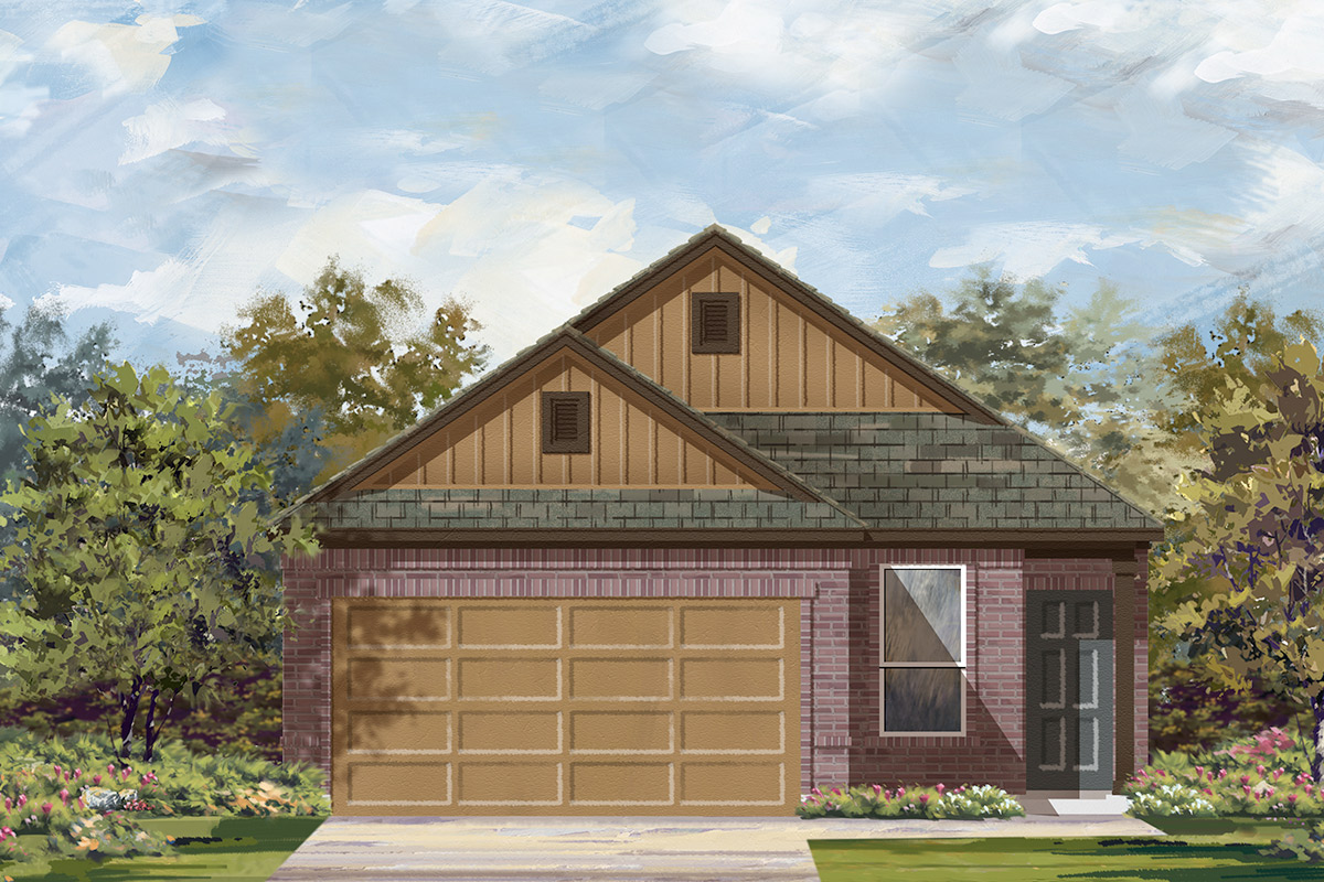 New Homes in Manor, TX - Plan F-1353 F