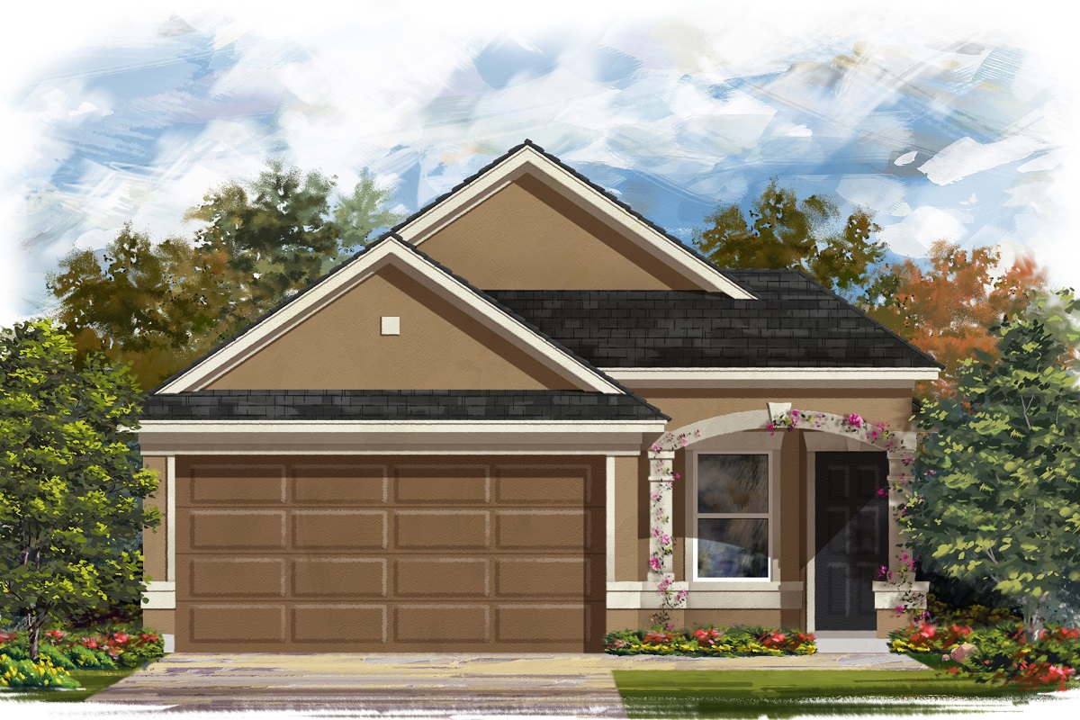 New Homes in Manor, TX - Presidential Meadows - Heritage Collection Plan 1234 Elevation D