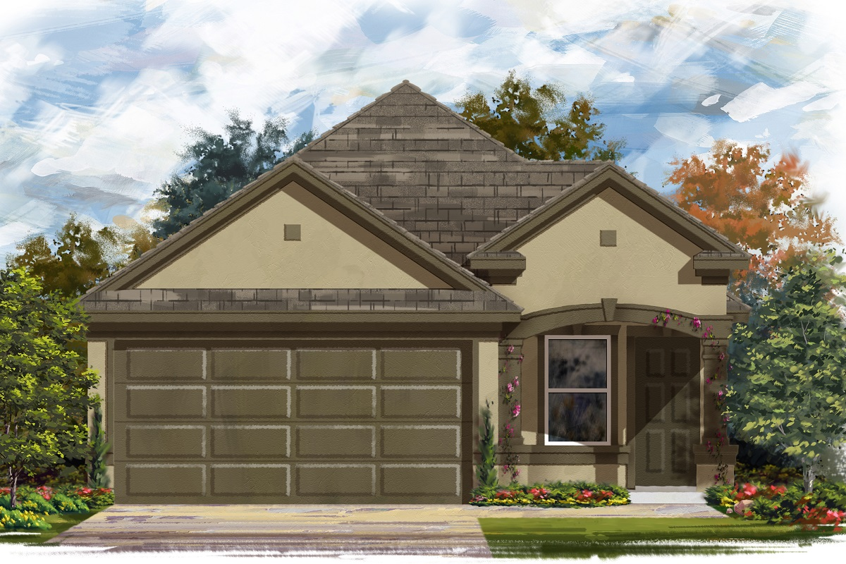 New Homes in Manor, TX - Plan F-1340 D