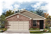 New Homes in Manor, TX - Plan F-1353 Modeled
