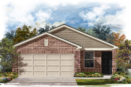 New Homes in Manor, TX - Plan F-1353 C