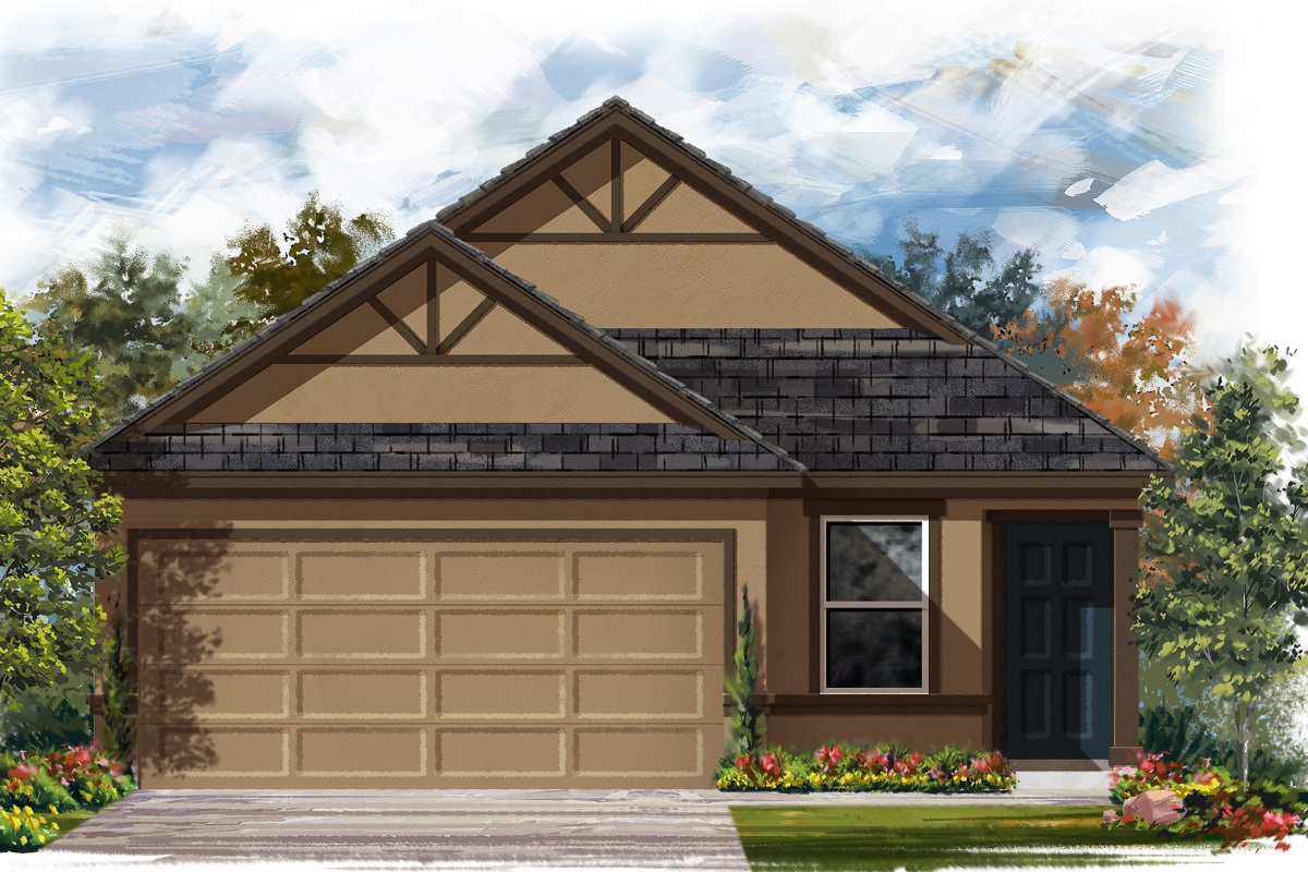 New Homes in Manor, TX - Plan 1353 Modeled