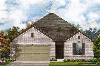 New Homes in Manor, TX - Plan A-1675 A