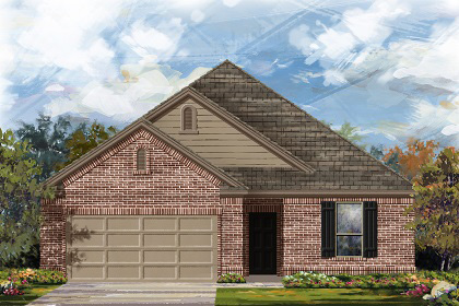 New Homes in Manor, TX - Plan A-1675 B