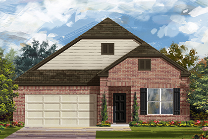 New Homes in Manor, TX - Plan A-1996 B