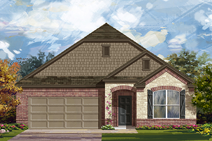 New Homes in Manor, TX - Plan A-1996 C