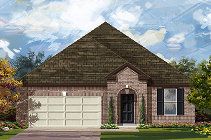 New Homes in Manor, TX - Plan A-2089 A