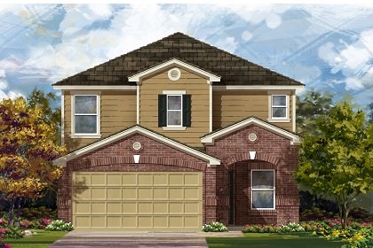 New Homes in Manor, TX - Plan F-2411 C