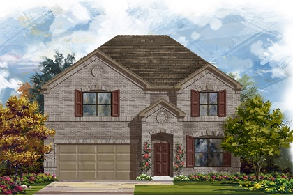 New Homes in Manor, TX - Plan A-2755 A