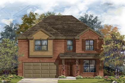 New Homes in Manor, TX - Plan A-2755 B